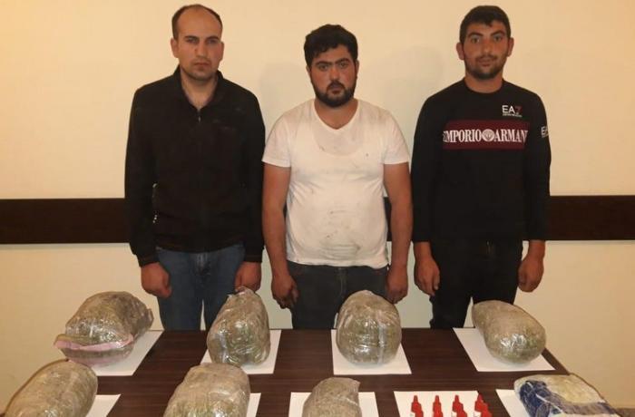 İrandan Azərbaycana narkotik keçirmək istəyən şəxslər saxlanıldı – FOTO