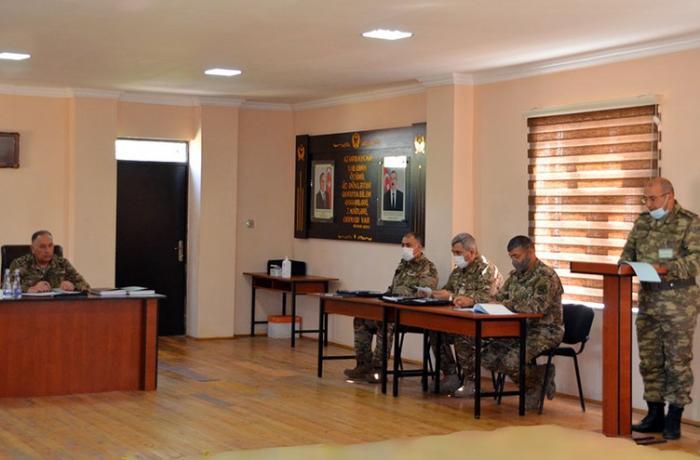 Azərbaycan Ordusunun antiterror əməliyyatına hazırlığı barədə tapşırıqlar verildi – FOTO