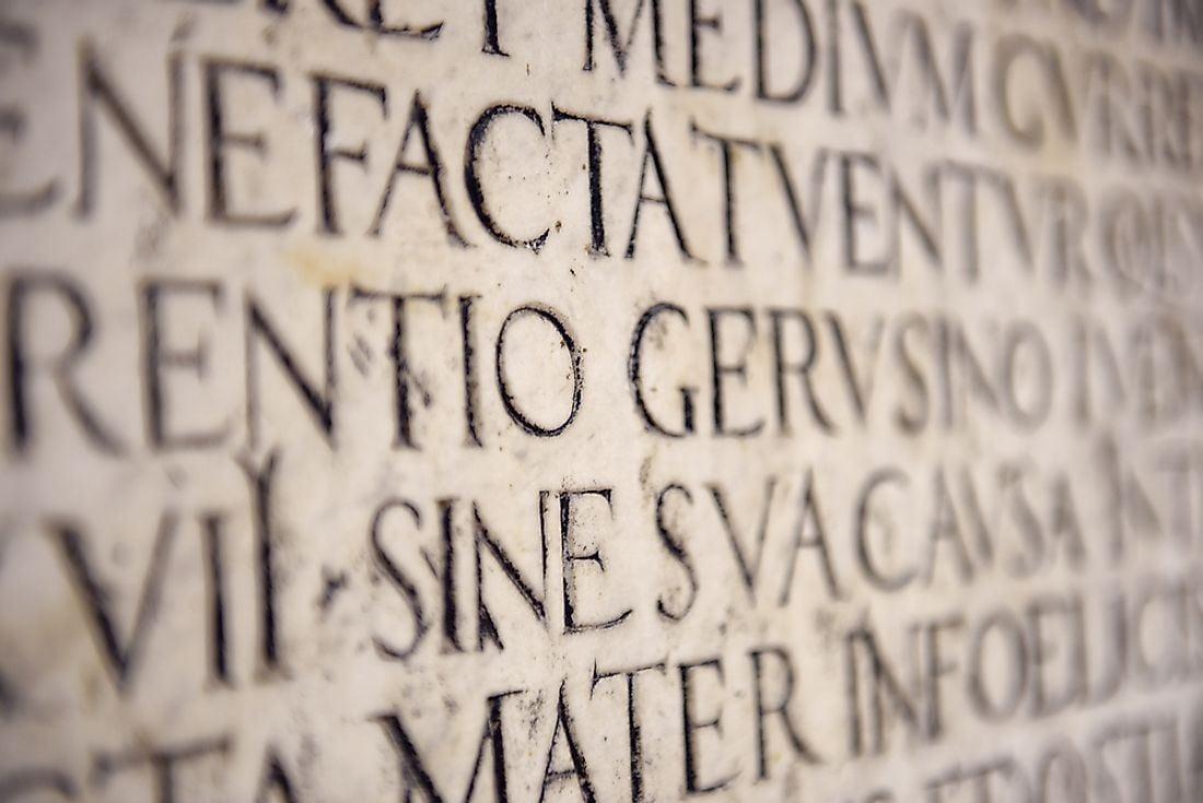 Vətəni olmayan xalqın dünyaya yayılmış dili – Latın dili