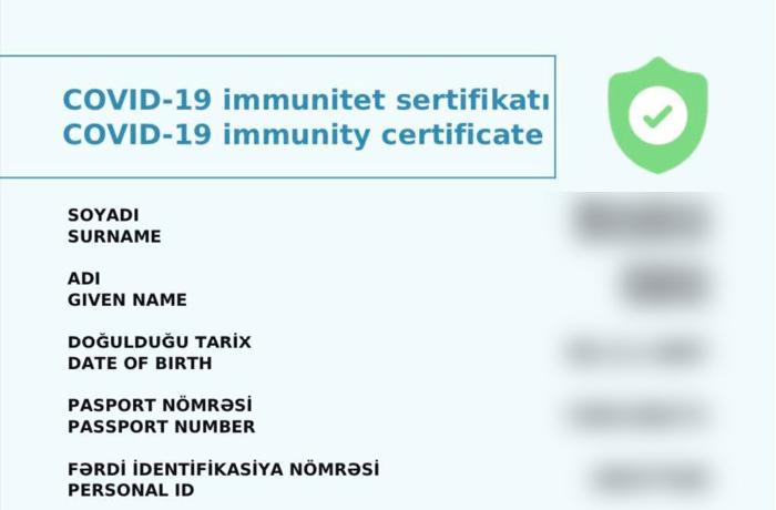 Gələn həftədən vaksin vurdura bilməyənlərə sertifikat veriləcək