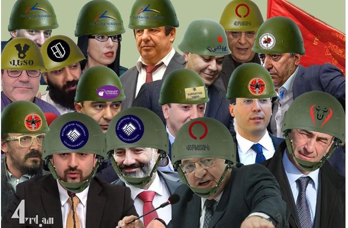Ermənistanda daha bir sorğu – Köçəryan önə keçdi – FOTO