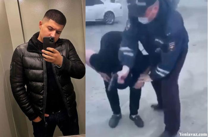 Rusiyada polis tərəfindən güllələnən gəncin nəşi  -