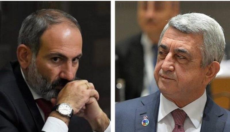 Paşinyan Serj Sarkisyanla bağlı qalmaqallı açıqlama yaydı