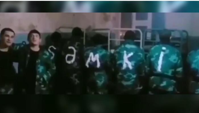 """DSX hərbçilərin """"dedovşina"""" görüntüləri ilə bağlı AÇIQLAMA – VİDEO"""