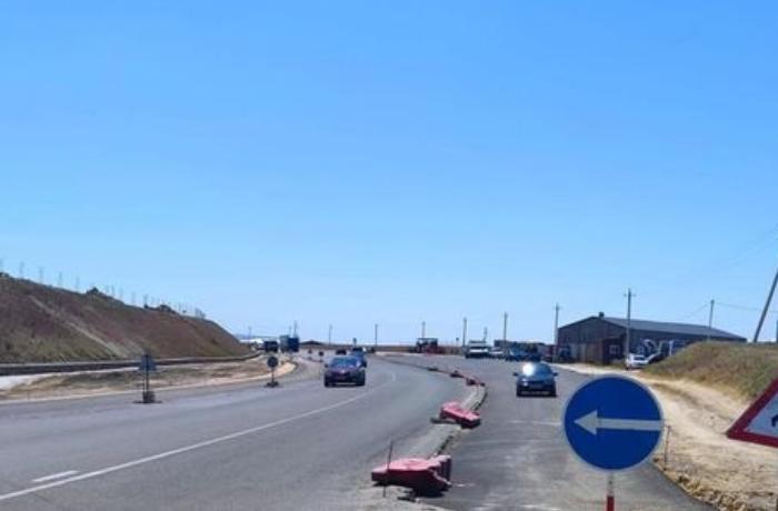 Bakı-Sumqayıt yolunun bu hissəsi bağlandı - FOTO