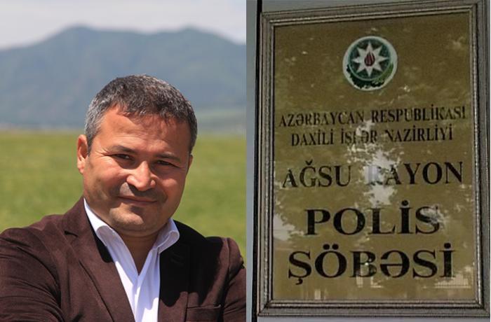 Polis rəisinin müavini tarixçi alimi şərləyib? –
