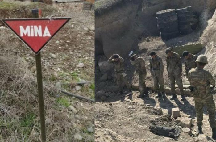 15 erməni ölkəsinə təhvil verildi - Bu rayonun mina xəritəsi alındı
