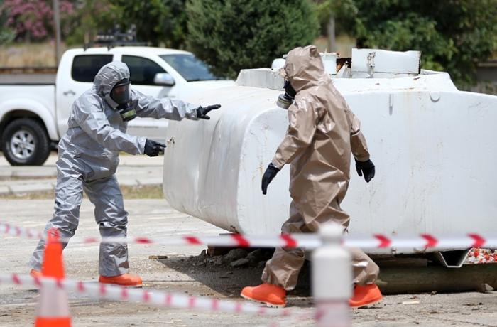 Çində ətrafa kimyəvi maddə sızdı, 8 nəfər öldü