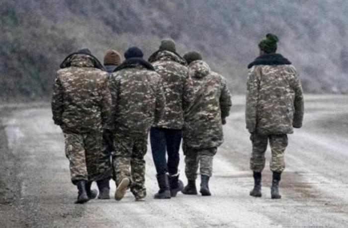 Ölkəsinə qaytarılan 15 erməni əsirin FOTOSU