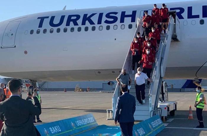 Türkiyə millisi Bakıda