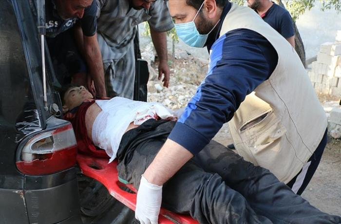 Suriyada Əsəd rejiminin İdlibə hücumları nəticəsində 20 nəfər öldü