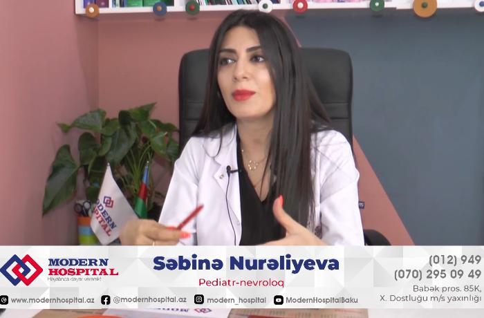 Uşaqlarda iştahsızlığın səbəbləri nələrdir? – Pediatr nevroloq Dr. Səbinə Nurəliyeva ilə MÜSAHİBƏ – VİDEO