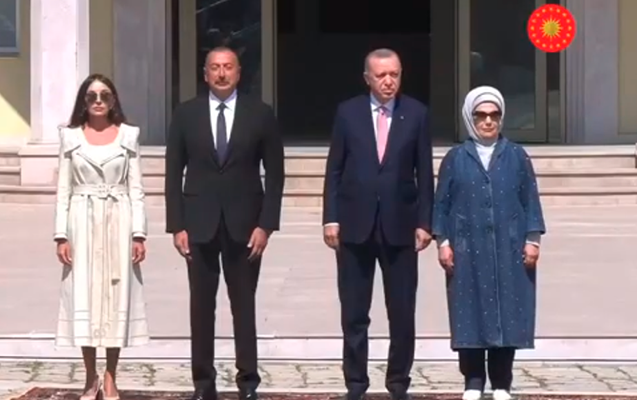 Azerbaijani and Turkish Presidents visit to Shusha - VİDEO