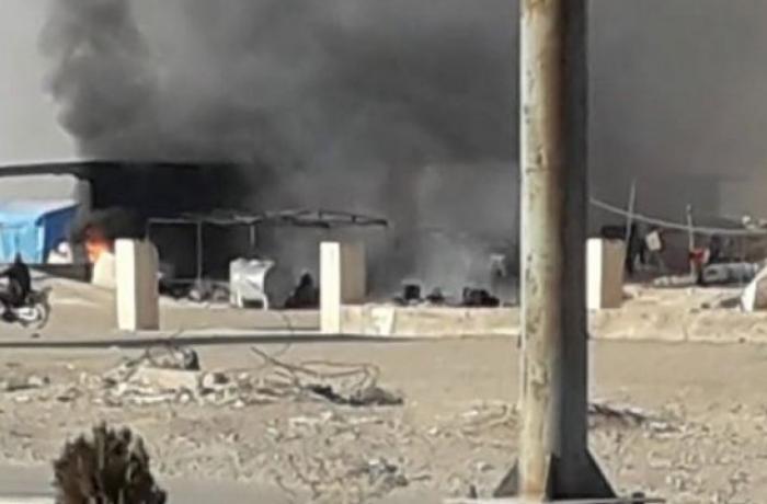 Suriyada SEPAH-ın hərbi bazasına hücum edildi