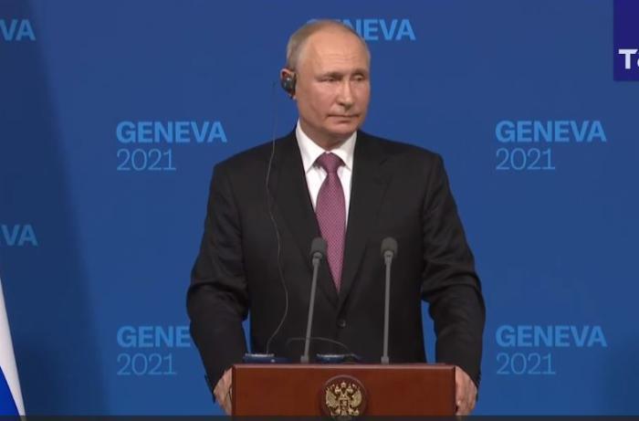 Cenevrə görüşü barədə Putindən AÇIQLAMA