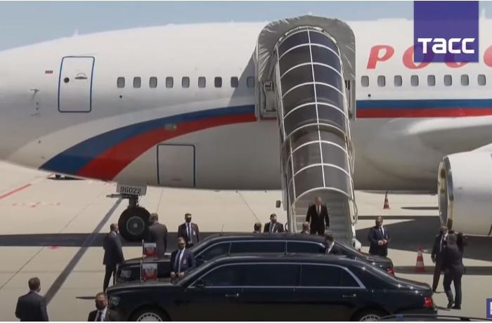 Putin İsveçrəyə gəldi – VİDEO