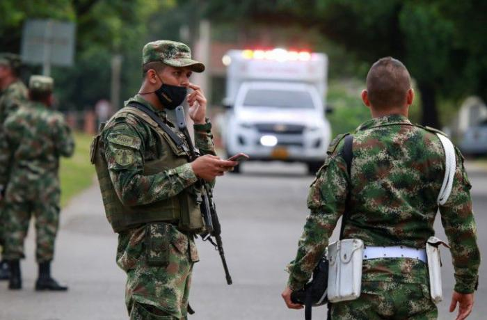 Kolumbiyada hərbi hissədə partlayış – 36 yaralı