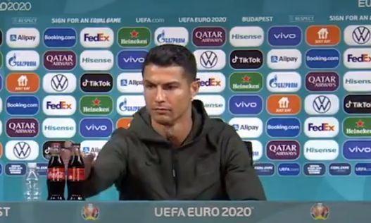 UEFA futbolçulara masadakı şüşələrə toxunmağı qadağan etdi