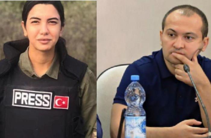 """Fulya Öztürkdən Turan İbrahimova cavab: """"Əlinizi vicdanıza qoyun"""""""