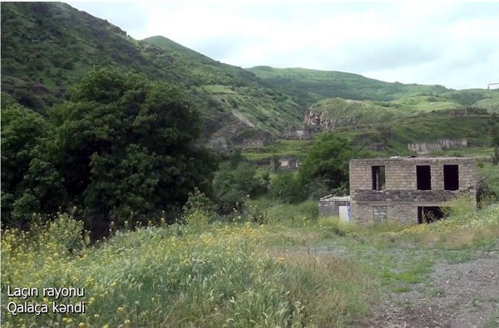 Laçının Qalaça kəndi – VİDEO