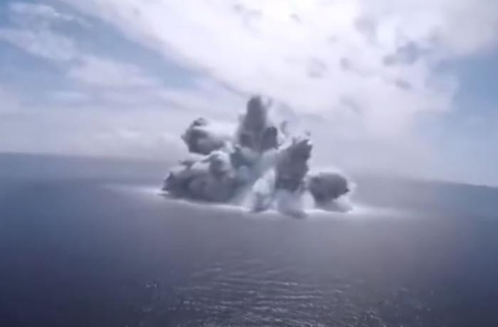 ABŞ donanmasının sınaqları zəlzələyə səbəb oldu – VİDEO