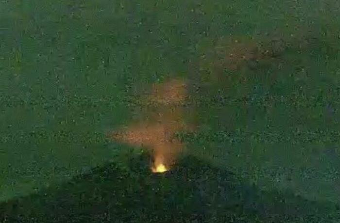 Yaponiyada güclü vulkan püskürməsi baş verib