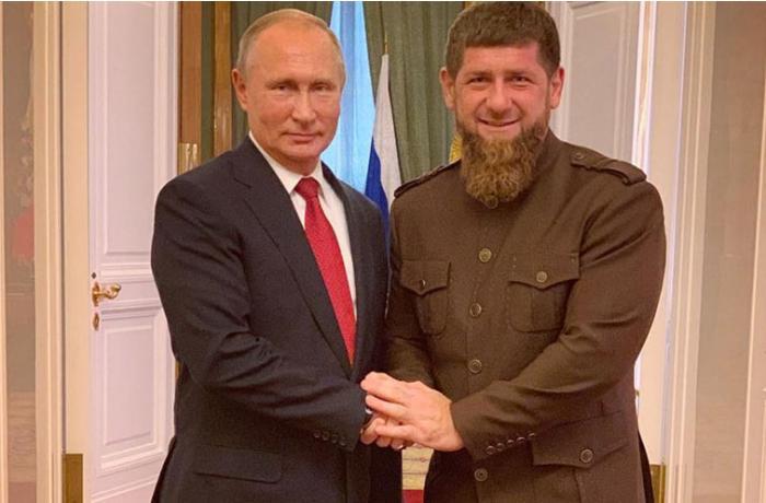 Putin Kadırovla videokonfrans şəklində görüş keçirəcək