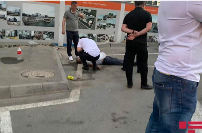 Bakıda federasiyanın sürücüsü küçədə döyülərək öldürüldü - FOTOLAR