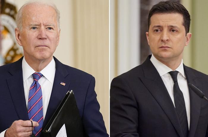ABD Başkanı Biden, Ukrayna Devlet Başkanı Zelenskiy'i ABD'ye davet etti