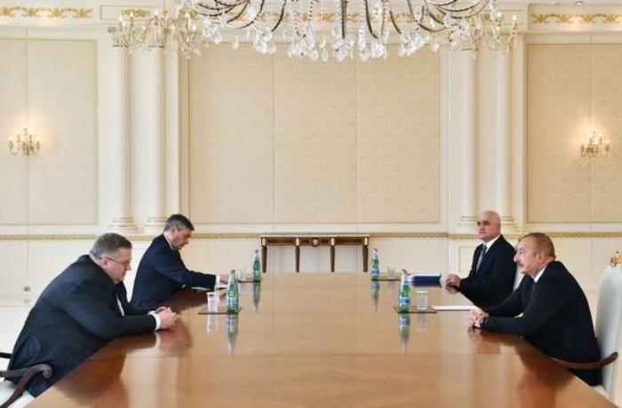 Президент Ильхам Алиев принял заместителя премьер-министра России