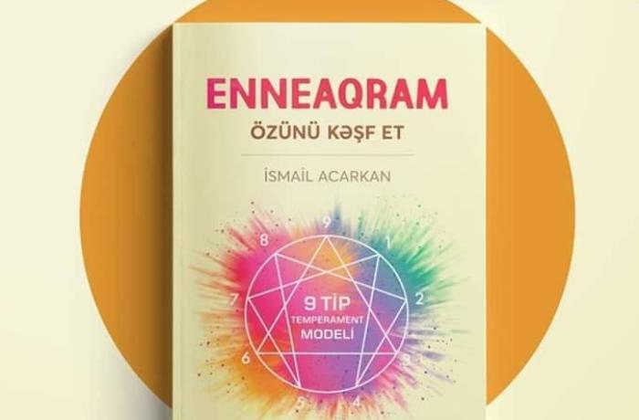 """""""Enneaqram. Özünü kəşf et"""" – Kitab afişası"""