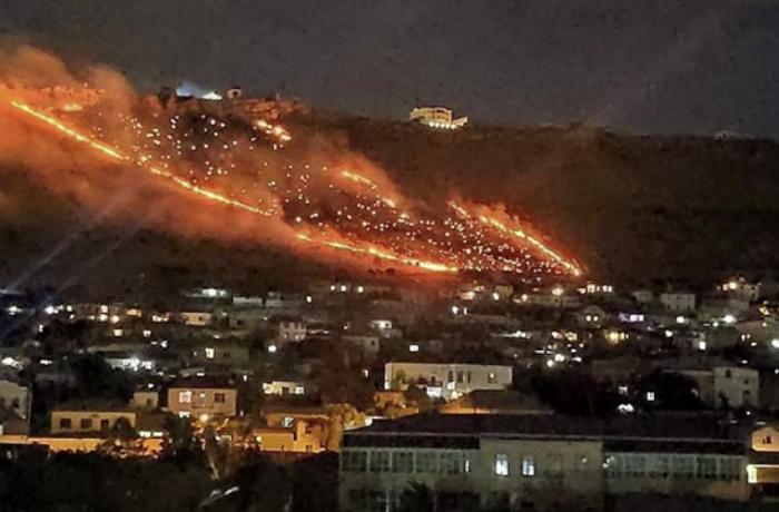 Bakıda dağlıq ərazidə baş verən yanğın söndürülüb - VİDEO - YENİLƏNİB