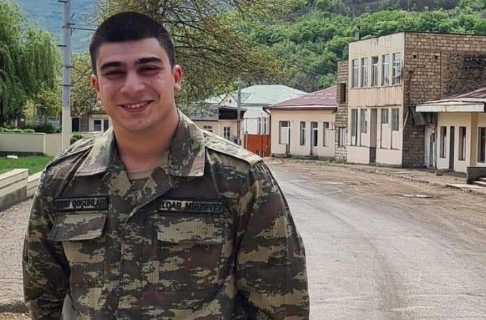 Şəhid polkovnik İlqar Mirzəyevin oğlu hərbi xidmətə yola düşür
