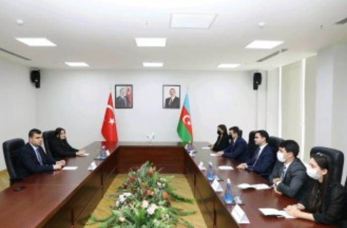 YAP və AKP gənclər təşkilatları arasında görüş olub