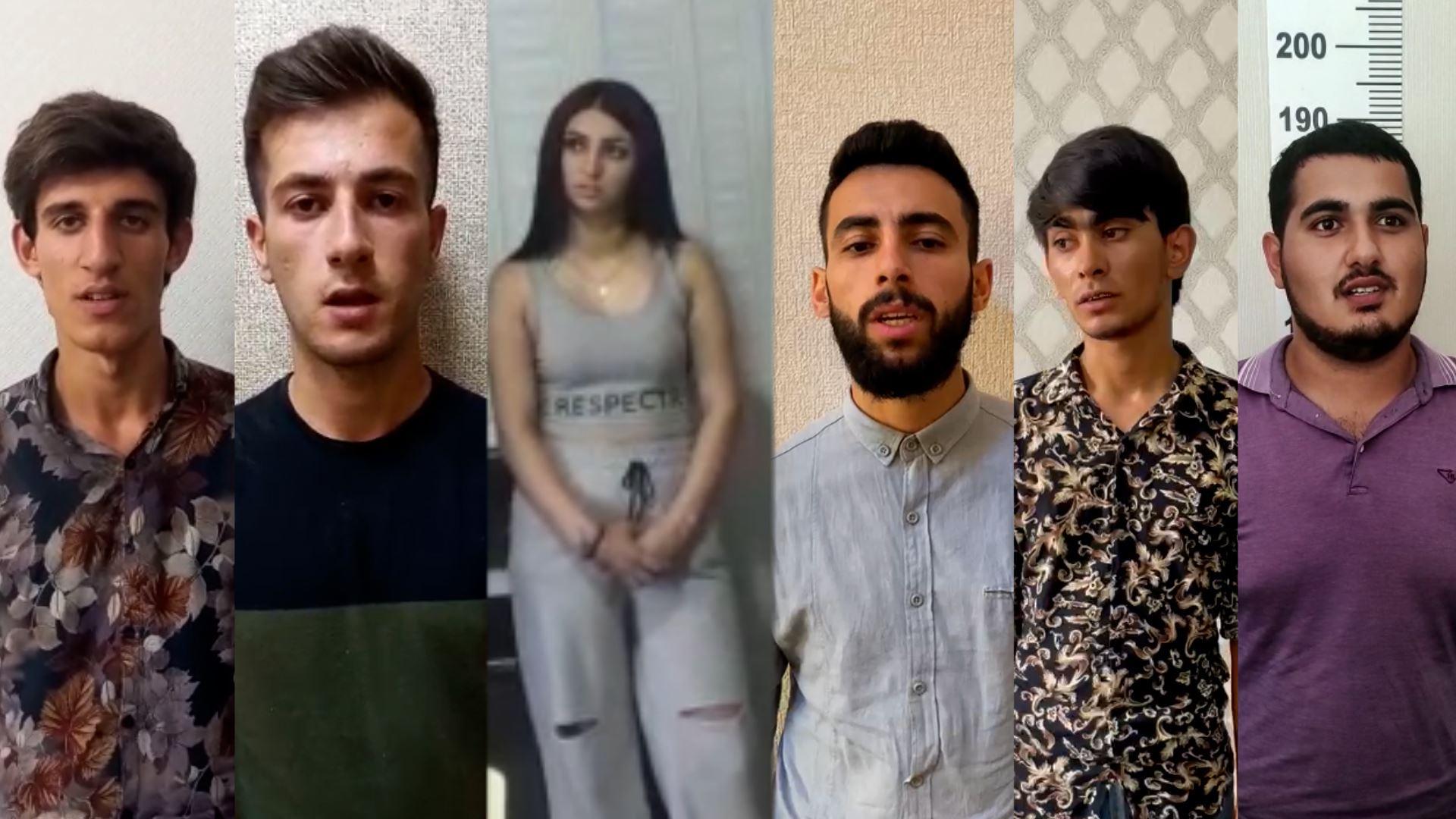 """""""TikTok""""da narkotiki təbliğ edən 5 oğlan və 1 qız saxlanıldı - VİDEO"""