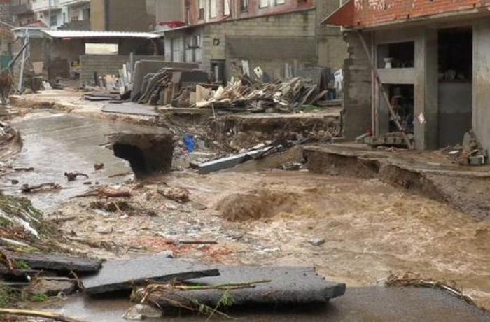 Daha bir Avropa ölkəsində sel fəlakəti yaşandı - VİDEO