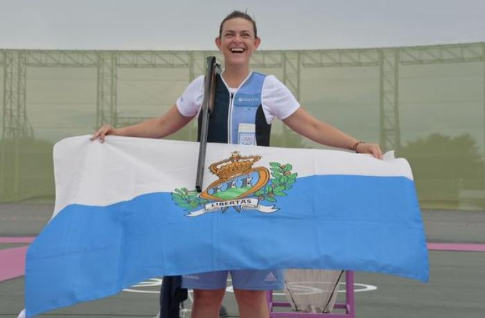 Cırtdan ölkə təmsilçisi medal qazanıb, Olimpiada tarixinə düşdü - FOTO