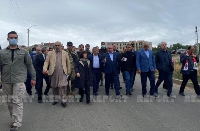 Azərbaycan, Türkiyə və Pakistan parlament sədrlərinin Şuşaya səfəri başlayıb - FOTOLAR
