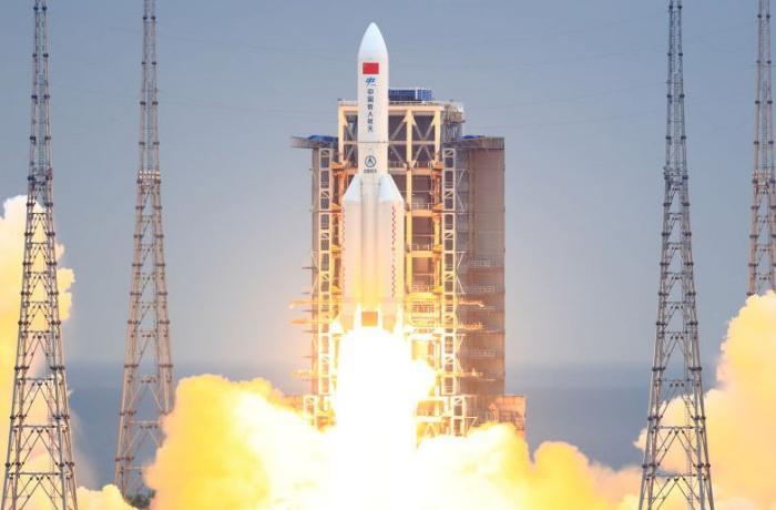 Çin növbəti dəfə kosmosa raket buraxdı