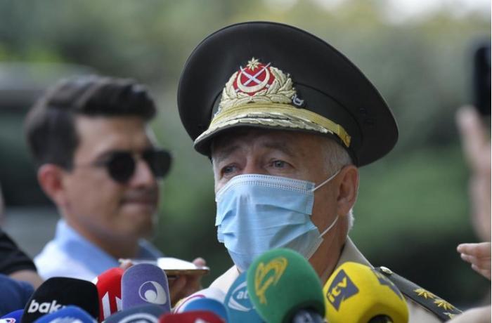 General Etibar Mirzəyev Türkiyəyə göndərilən yardımdan danışdı - VİDEO