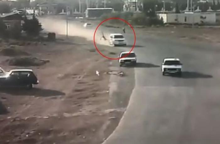 """""""Prado"""" piyadanı vurub öldürdü, üç maşına çırpıldı – DİN-dən AÇIQLAMA + ANBAAN VİDEO"""