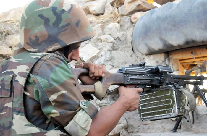 Ermenistan askerleri Nahçıvan'daki Azerbaycan askerlerine saldırdı