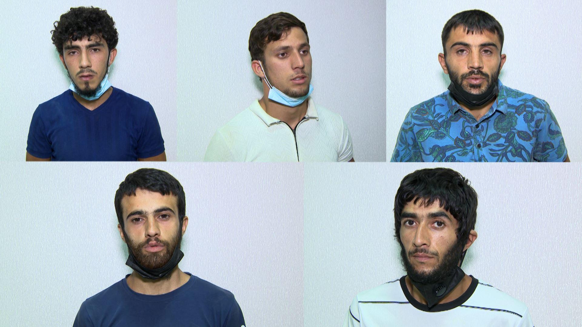 """Bakıda """"tiryəkxana"""" aşkar edildi, 5 nəfər saxlanıldı - VİDEO"""