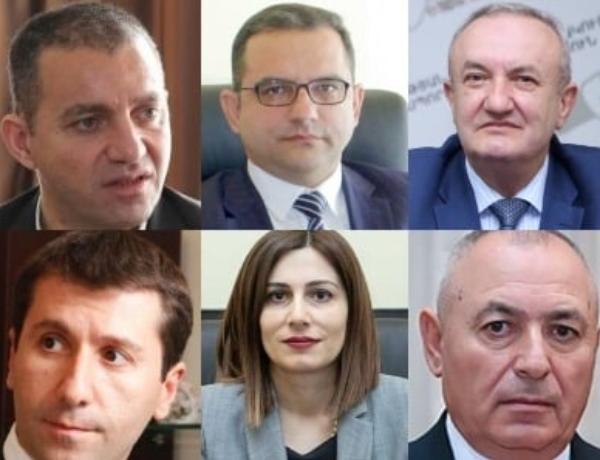 Ermənistanda 6 yeni nazir təyin olundu