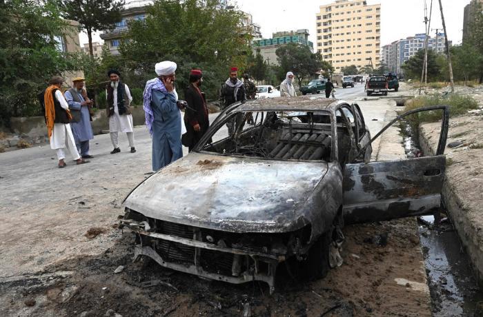 US drone strike to Kabul airport killed 12 civilians