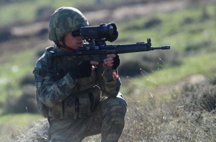 Pençe-Kaplan bölgesinde 2 terörist etkisiz