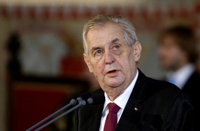 Çexiya prezidentinin xəstəxanaya yerləşdirilmə səbəbi açıqlandı