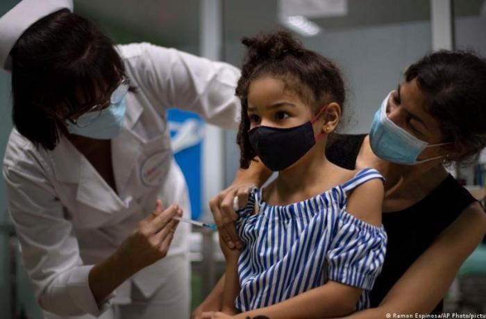 Kuba 2-11 yaşlarında uşaqların koronavirusa qarşı kütləvi peyvəndinə başlayır