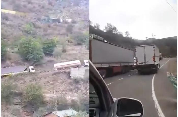 İranlı sürücülər ermənilərə görə canlarını təhlükəyə atır - VİDEO