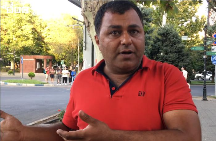 """""""Azərbaycanlılar bizim qardaşımızdır"""" - İran sürücüləri İrəvanda - VİDEO"""